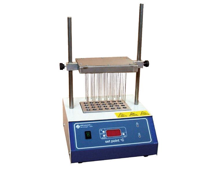 Evaporatore a  flusso di azoto